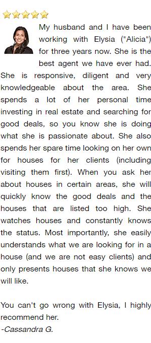 Green Bay Realtor and Buyer's Agent Reviews - Cassandra G.