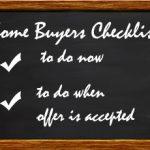 Green Bay Home Buyer's Checklist