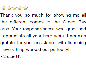 Green Bay Investor Realtor Reviews - Bruce W.