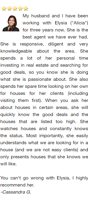 Green Bay Realtor and Buyer's Agent Reviews - Cassandra G.