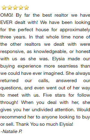 Green Bay Realtor Reviews - Natalie P.