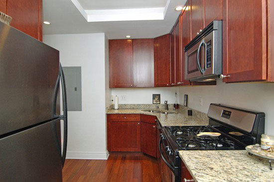 Granite Stainless Steel Kitchen Condo