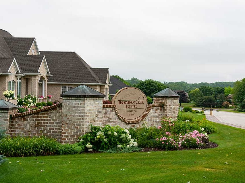 Thornberry Estates Homes in Hobart, WI 54115 a Suburb of Green Bay