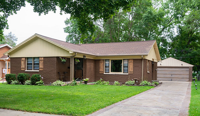 Remodeled Home Near Packer's Lambeau Field in Green Bay, Wisconsin
