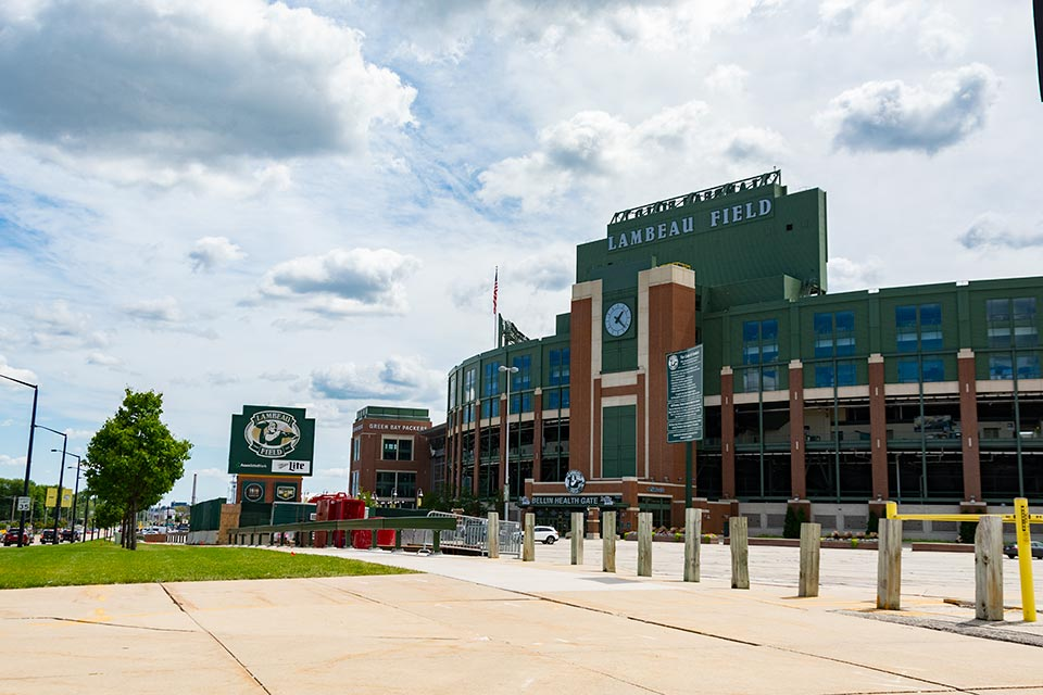 Green Bay Packer's Lambeau Field